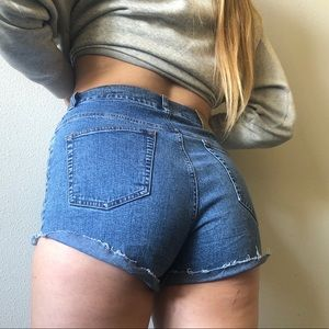 ralph lauren denim jean shorts